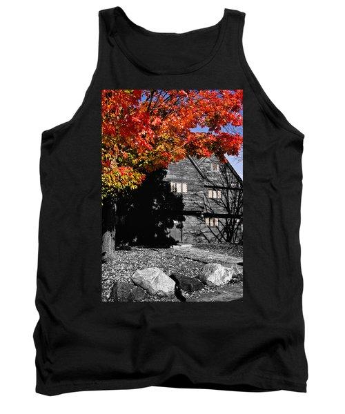 Autumn In Salem Tank Top by Jeff Folger