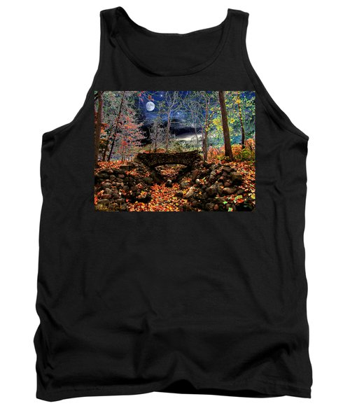 Autumn In The Meadow Tank Top by Michael Rucker