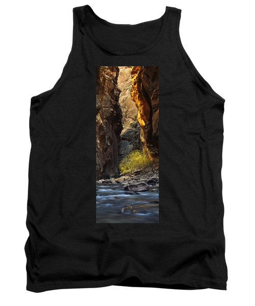 Tank Top featuring the photograph Autumn In The Narrows by Andrew Soundarajan