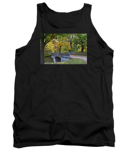Autumn In The Park Tank Top by Bruce Bley