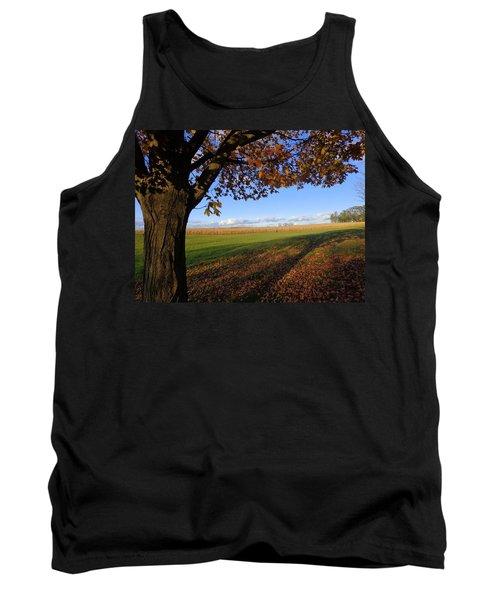 Autumn Landscape Tank Top by Joseph Skompski