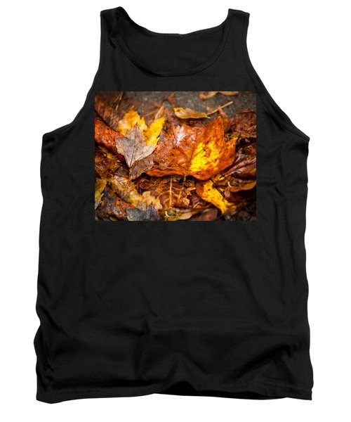 Autumn Pile Tank Top by Melinda Ledsome