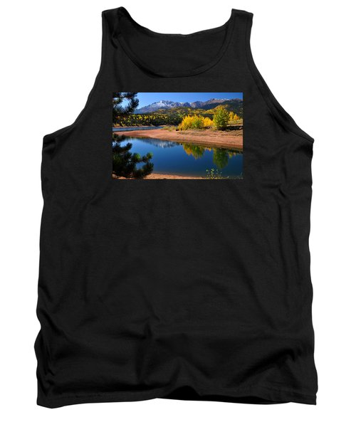 Autumn Reflections At Crystal Tank Top