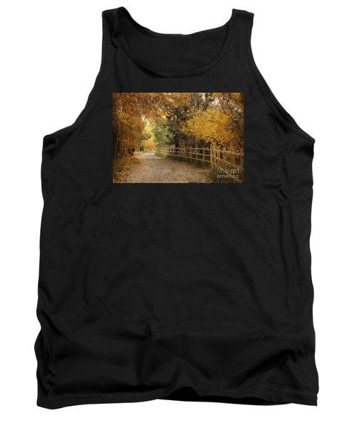 Autumn Walk Tank Top