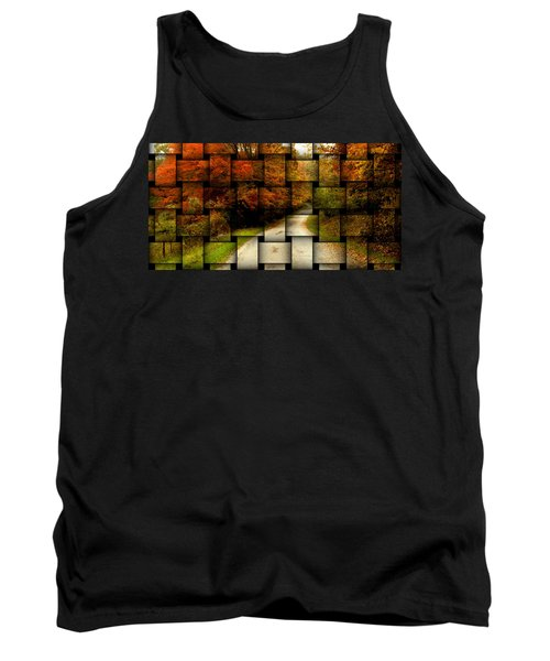 Autumn Weave Tank Top