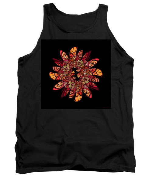 Autumn Wreath Tank Top