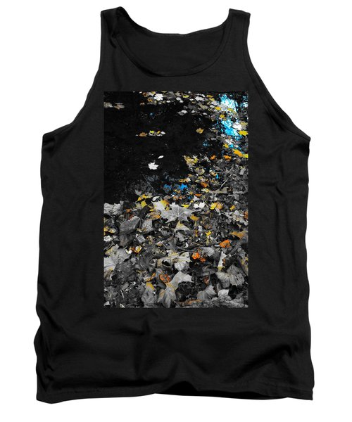 Tank Top featuring the photograph Autumn's Last Color by Photographic Arts And Design Studio