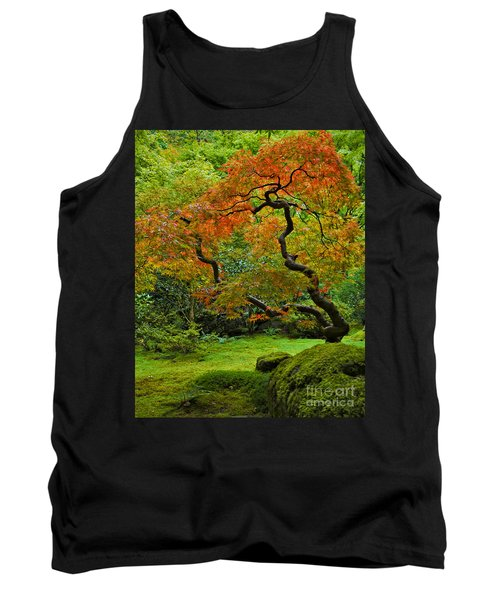 Autumn's Paintbrush Tank Top