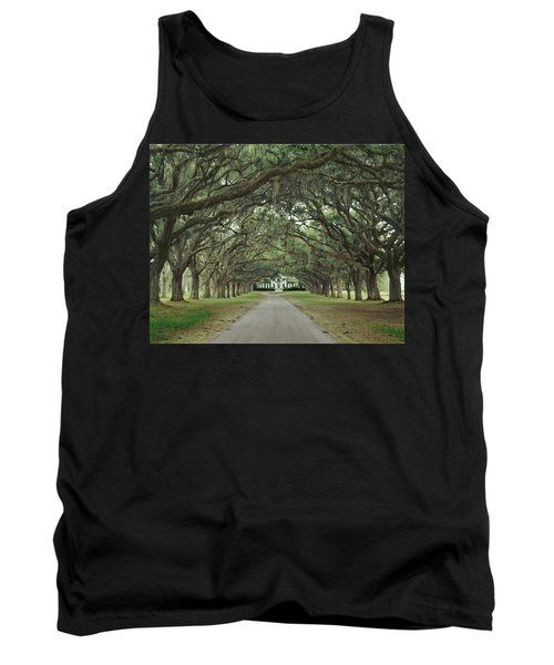 147706-avenue Of The Oaks  Tank Top