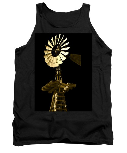 Awesome Aermotor Tank Top by Anne Mott