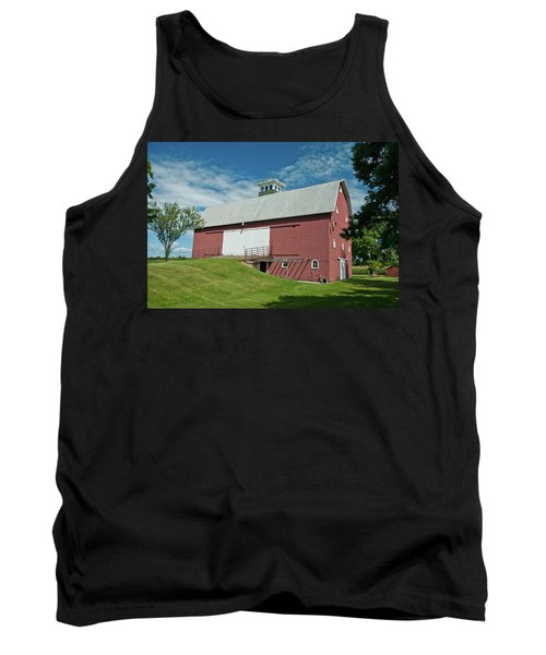 Tank Top featuring the photograph Babcock Barn 2263 by Guy Whiteley