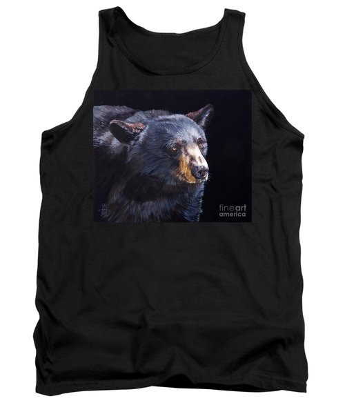 Back In Black Bear Tank Top