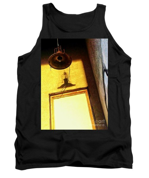 Tank Top featuring the photograph Back Of House by James Aiken