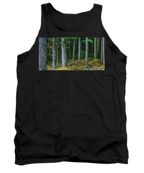 Inside View Backroad Forest Tank Top