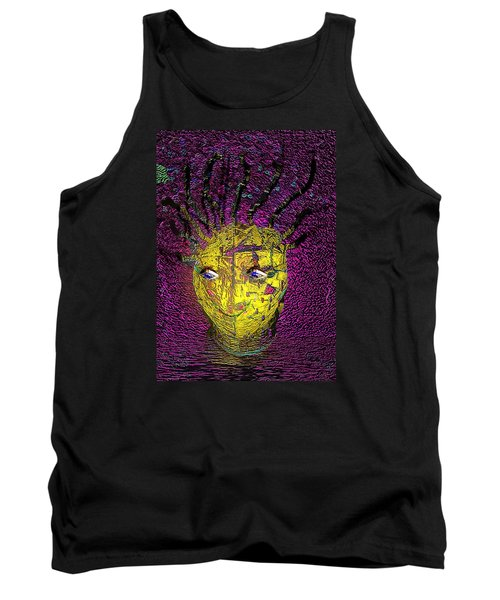 Bad Hair Day Tank Top by Irma BACKELANT GALLERIES