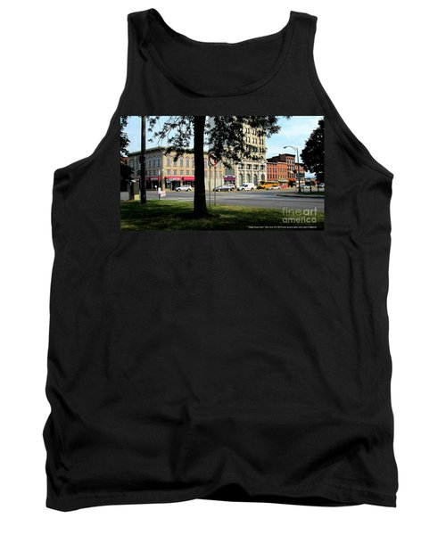 Tank Top featuring the photograph Bagg's Square West by Peter Gumaer Ogden