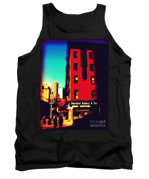 Tank Top featuring the photograph The Bakery - New York City Street Scene by Miriam Danar