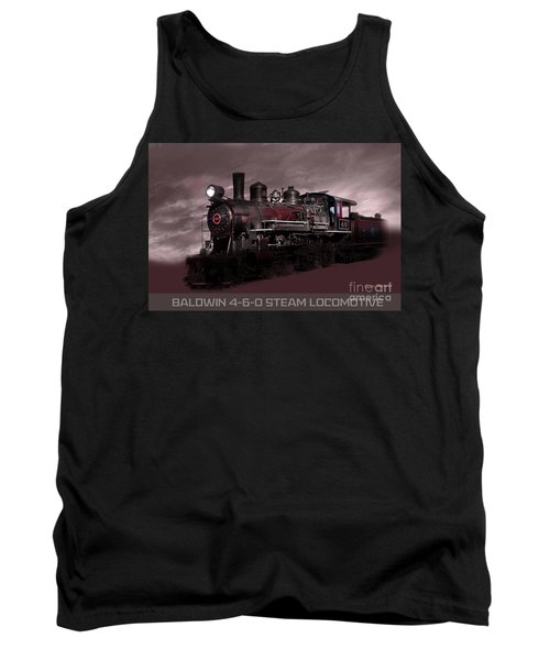 Baldwin 4-6-0 Steam Locomotive Tank Top