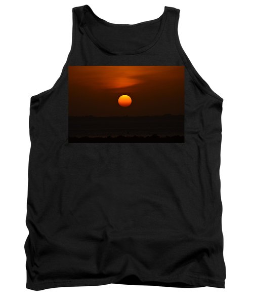 Tank Top featuring the photograph Ball Of Fire by Debra Martz