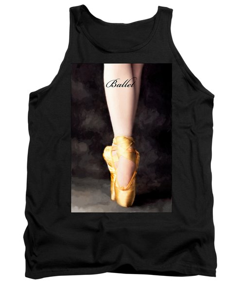 Ballet Tank Top by David Perry Lawrence