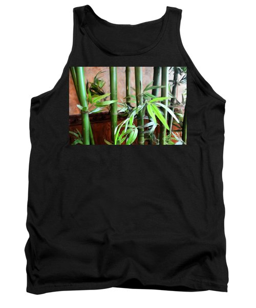 Tank Top featuring the photograph Plant -  Bamboo  -  Luther Fine Art by Luther Fine Art