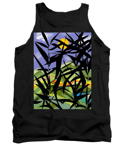 Bamboo Tank Top by Christine Fournier