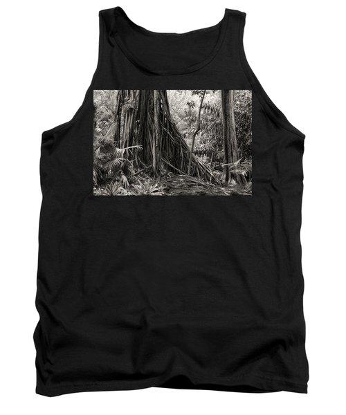 Strangler Fig And Cypress Tree Tank Top