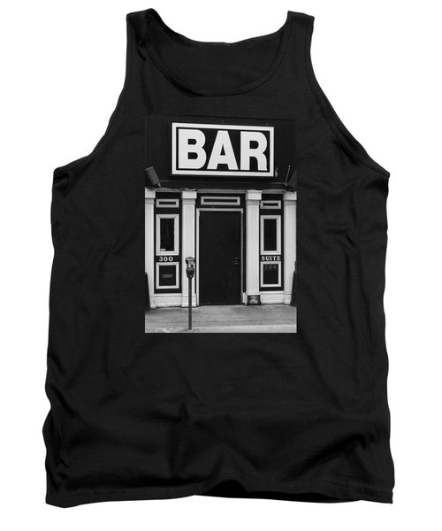 Tank Top featuring the photograph Bar by Rodney Lee Williams