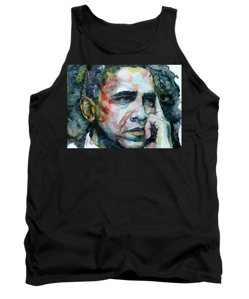 Barack Tank Top by Laur Iduc