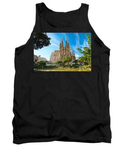 Barcelona - La Sagrada Familia Tank Top