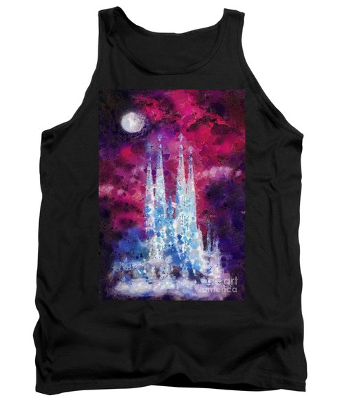 Barcelona Night Tank Top by Mo T