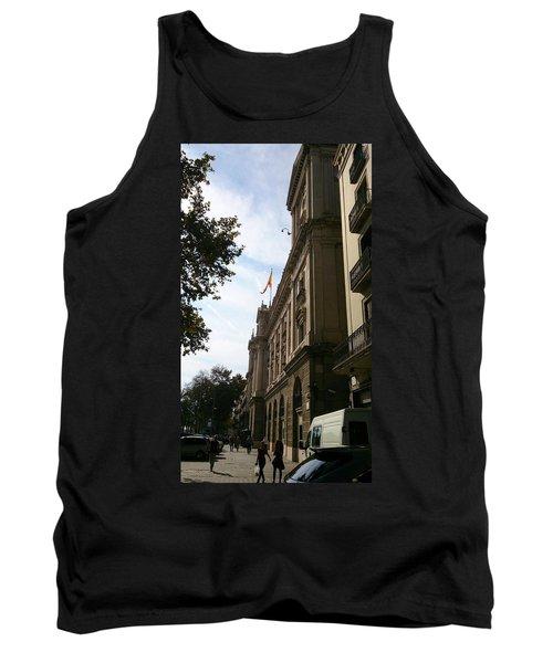 Barcelona Street Tank Top
