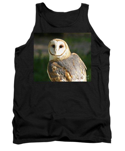 Barn Owl In Bright Sun Tank Top