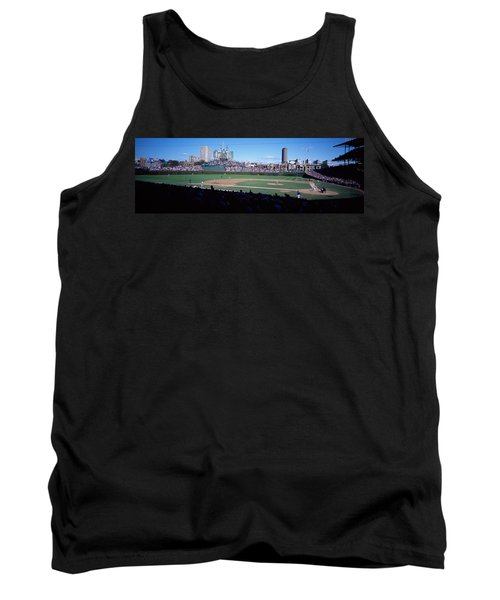 Baseball Match In Progress, Wrigley Tank Top by Panoramic Images