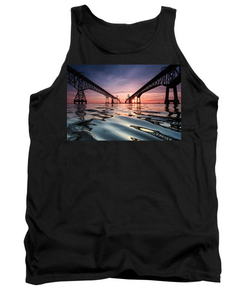 Bay Bridge Reflections Tank Top