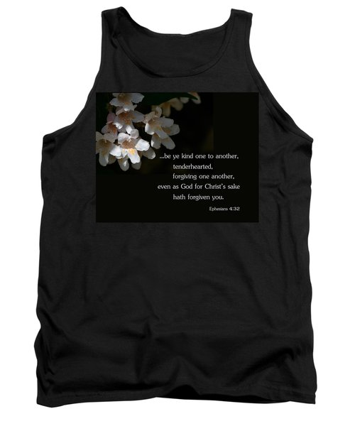 Tank Top featuring the photograph Be Ye Kind by Larry Bishop