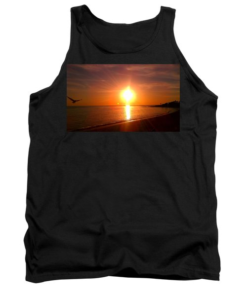 Tank Top featuring the photograph Beach by Chris Tarpening
