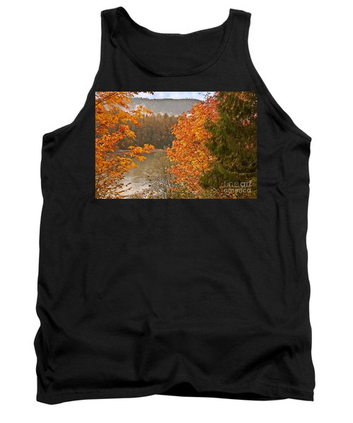 Tank Top featuring the photograph Beautiful Autumn Gold Art Prints by Valerie Garner