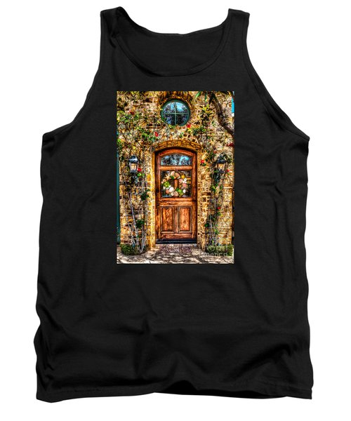 Tank Top featuring the photograph Beautiful Entry by Jim Carrell