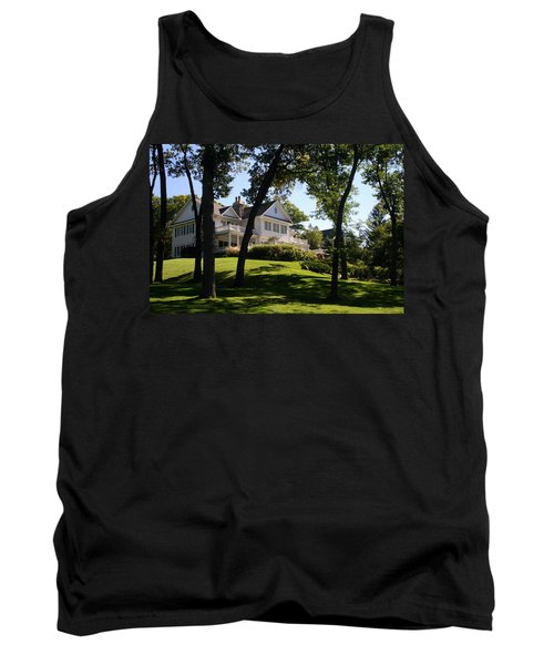 Beautiful Hillside Home Tank Top