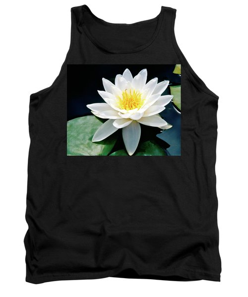 Beautiful Water Lily Capture Tank Top by Ed  Riche