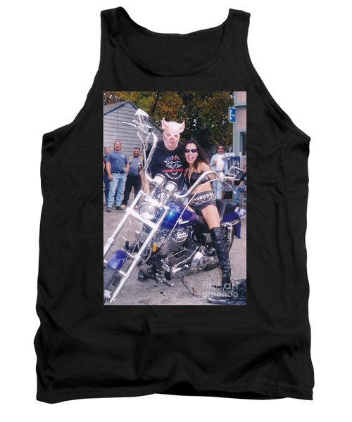 Beauty And The Beast Tank Top by Jesse Ciazza