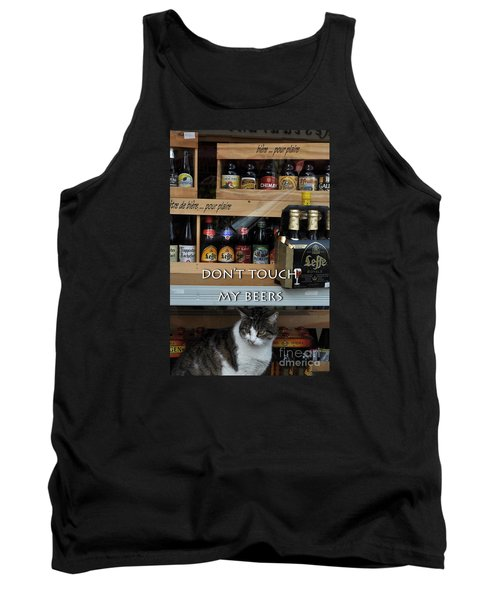 Tank Top featuring the photograph Beers Warden by Simona Ghidini