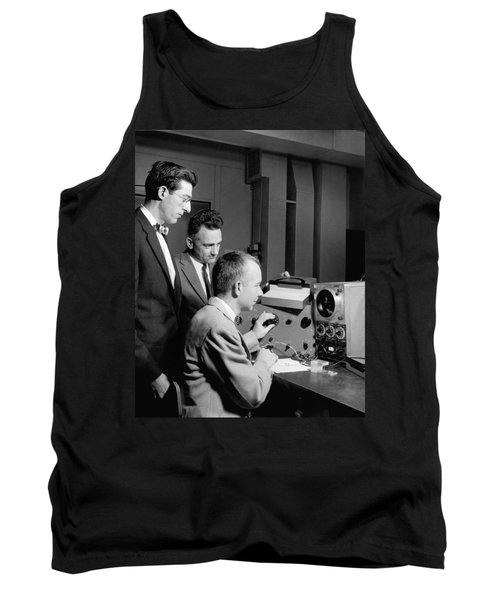 Bell Lab Scientists At Work Tank Top