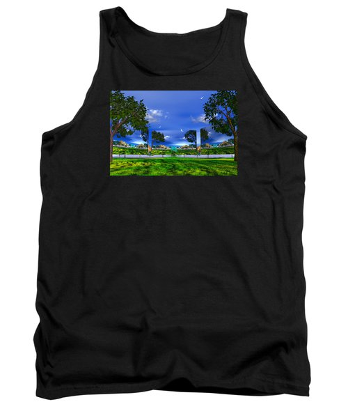 Tank Top featuring the photograph Belonging by Mark Blauhoefer