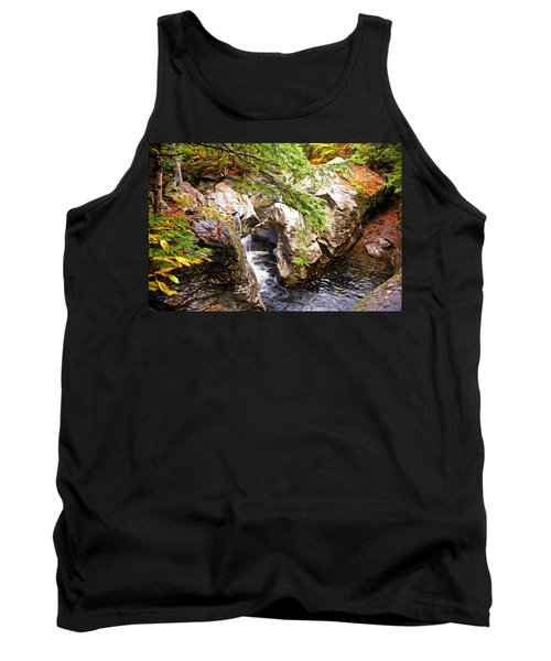 Tank Top featuring the photograph Beside The Water by Bill Howard