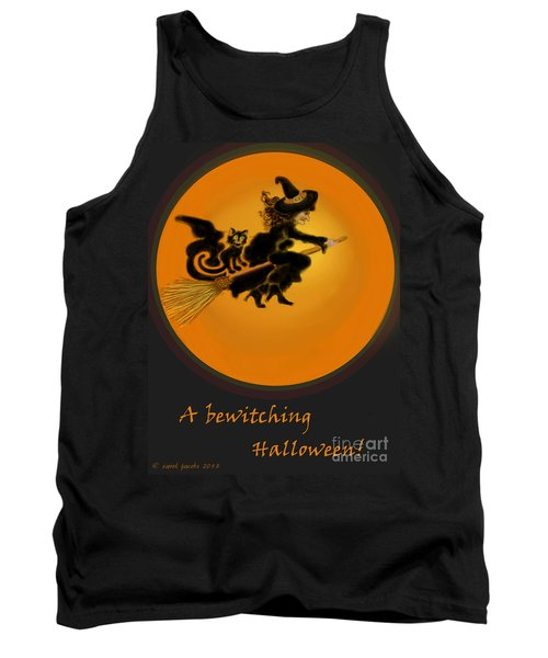 Tank Top featuring the painting Betwitched by Carol Jacobs