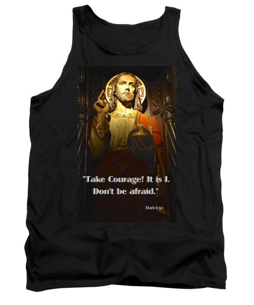 Bible Quote  Mark 6  50 Tank Top