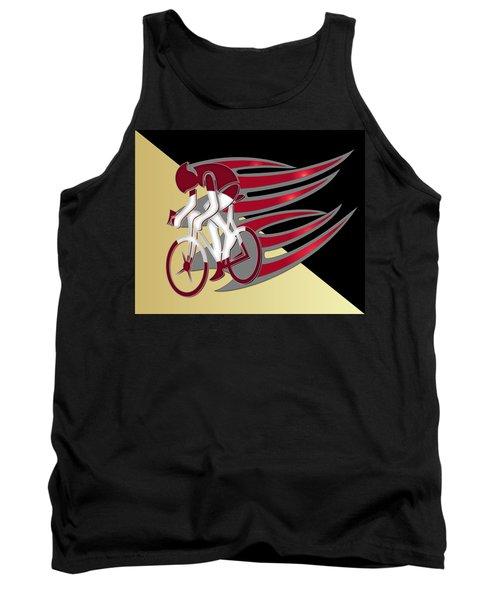 Bicycle Rider Series 01 Tank Top
