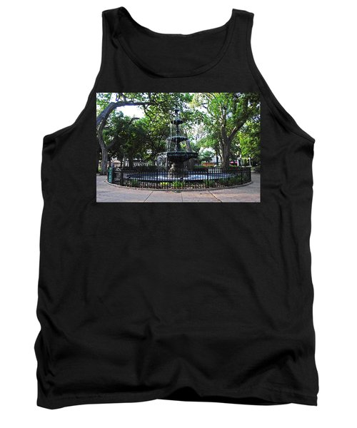 Bienville Fountain Mobile Alabama Tank Top